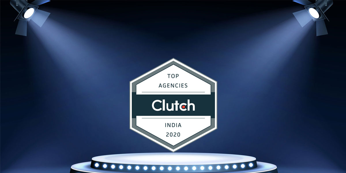We awarded as a Top Digital Marketing Agency in India 2020 – Clutch